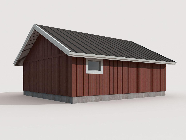 Half Concrete Half Plywood House Design