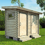 Ultimate Shed with Outhouse