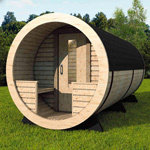 Ultimate Barrel Sauna 1